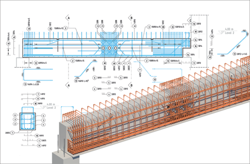 SOFiSTiK Reinforcement Detailing by SOFiSTiK AG - 3D