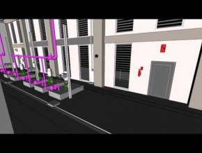 MEP modeling support for Plant room Building