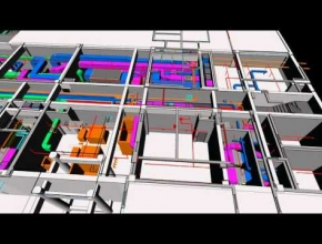 3D coordiantion of Mechanical, Electrical and Plumbing